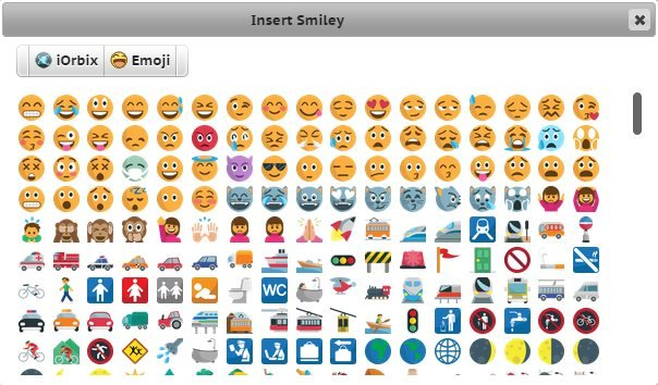 How to Insert Emoji icons on Android | iOrbix Global Forum