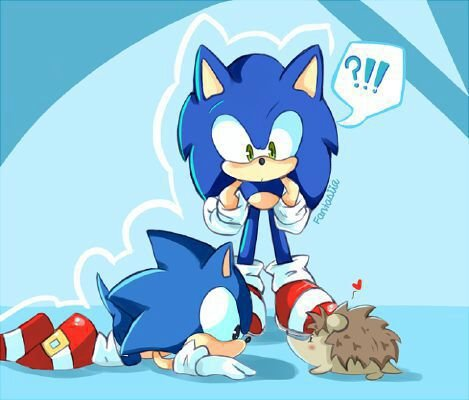 Sonic The Angel Hedgehog