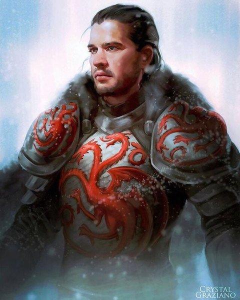 Jon Snow ᴬᵉᵍᵒᶰ ᵛᴵᴵ ᵀᵃʳᵍᵃʳʸᵉᶰ