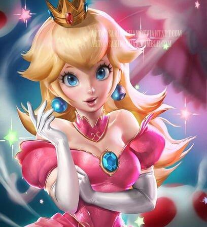 Princess Peach ᴼᶠ ᵀʰᵉ ᴹᵘˢʰʳᵒᵒᵐ ᴷᶤᶰᵍᵈᵒᵐ