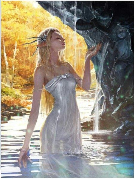 Freya Diosa de La Belleza Y La Muerte