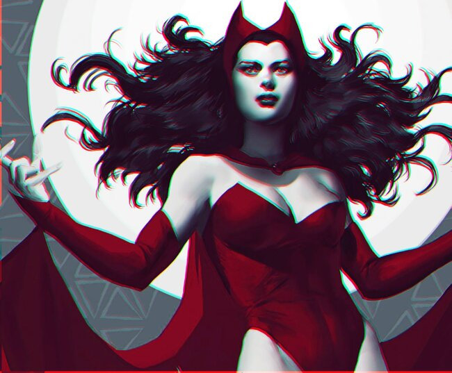 Scarlet Witch ᵠᵘᵉᵉᶰ ᵒᶠ ᶜʰᵃᵒˢ